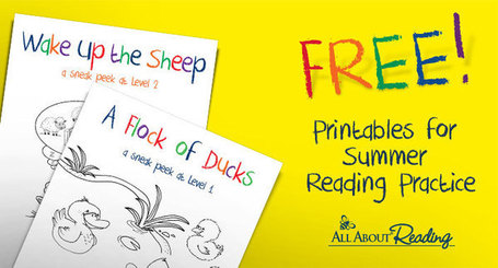 Free Printables for Summer Reading Practice | HCS Learning Commons Newsletter | Scoop.it