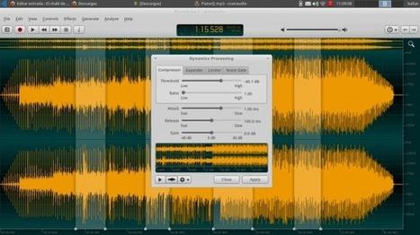 Edición de audio con Ocenaudio | Herramientas, aplicaciones | Scoop.it
