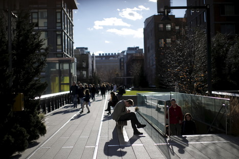 Above Manhattan's bustle, a reshaped public space | Sustainability Science | Scoop.it