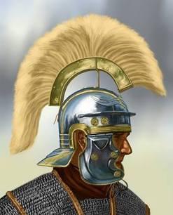 LEGIO VII CLAUDIA: El yelmo del centurión romano. ¿Cresta transversal o longitudinal? | Mundo Clásico | Scoop.it