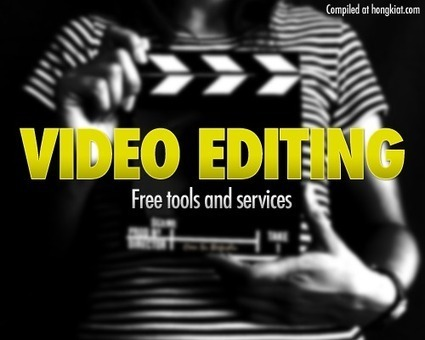 30 Video Editing Software And Online Tools | Hamilton West Shared Resources | Scoop.it