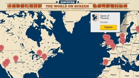 Visit the Filming Locations of Popular Movies and TV Shows With This Map | Books, Photo, Video and Film | Scoop.it