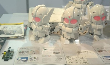 CES: Rapiro's Raspberry Pi powered humanoid robot flexes its muscles | Raspberry Pi | Scoop.it