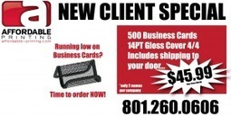 Special Deals | Affordable Printing | Printing | Scoop.it