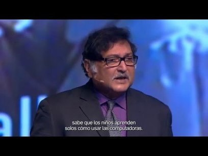 Sugata Mitra - Experto en métodos de enseñanza a través de las TIC - CDIPuebla 2015 | Teaching and Learning in the 21st Century | Scoop.it