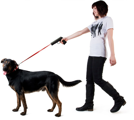 Retractable dog snap leash Povodokus | All Geeks | Scoop.it