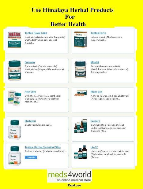 Must aware of important features of Himalaya Herbal Products to Make your Health well | Meds4World | Scoop.it