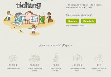 Tiching: busca y comparte recursos e intereses — ParaPNTE | Educación a Distancia y TIC | Scoop.it