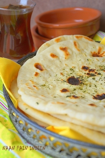 Naan pain indien (recette facile) | Recette de pain, brioche & viennoiserie | Scoop.it