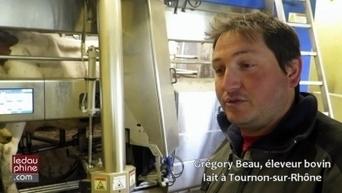 Agriculture innovante : un robot qui trait les vaches tout seul - Le Dauphiné | Agriculture en Dordogne | Scoop.it