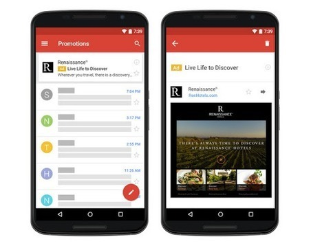 Google généralise les publicités Adwords dans Gmail pour tous les annonceurs - Arobasenet.com | Geeks | Scoop.it