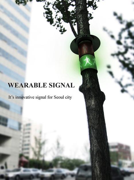 Wearable Signal – Modular Traffic Signal by Gisung Han, Hwanju Jeon & Jaemin Lee   Art, Design & Technology   Scoop.it