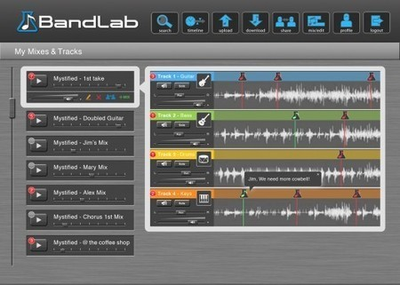 BandLab digital audio workstation flies into the cloud | Science, Technology, and Current Futurism | Scoop.it