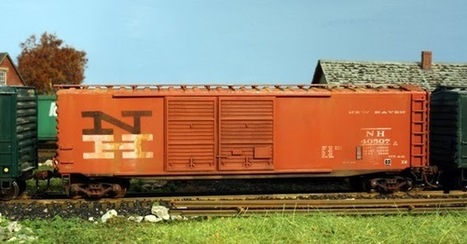 White River Division: New Haven 50ft Double Door Boxcar | Model Railroading | Scoop.it