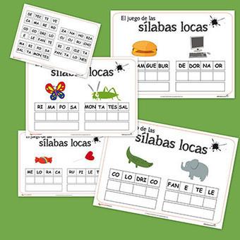 Las Sílabas locas. Juego para trabajar vocabulario - Educapeques | Viva el Español | Scoop.it