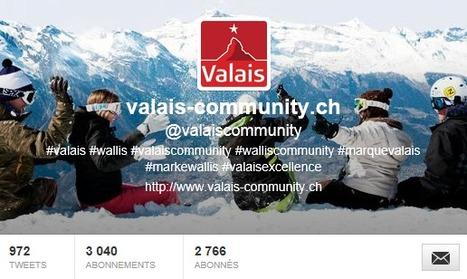 Twitter : notoriété des destinations touristiques valaisannes | Marque Valais | Scoop.it