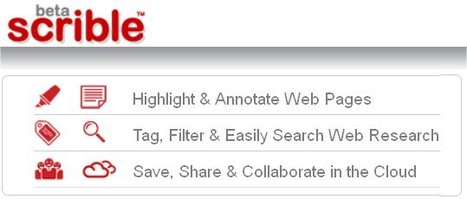 scrible | smarter online research - annotate, organize & collaborate on web pages | technologies | Scoop.it