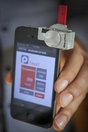 smartCARD lets users check their cholesterol via an iPhone | Longevity science | Scoop.it