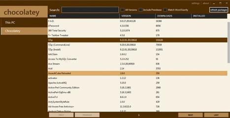 Comparatif des logiciels d'installation automatisée pour Windows Chocolatey et WAPT Philippe Scoffoni | L'actualité du numérique pour les TPE | Scoop.it