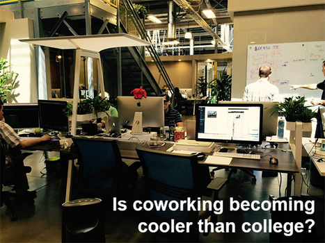 Will Coworking Replace Colleges? | Futurist Thomas Frey | Libraries and education futures | Scoop.it