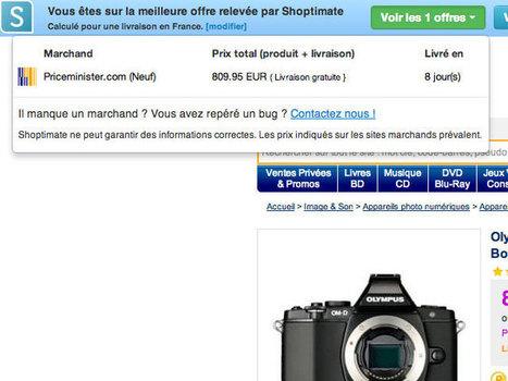 Shoptimate, un comparateur de prix instantanée dans le navigateur | Comparateur produits | Scoop.it