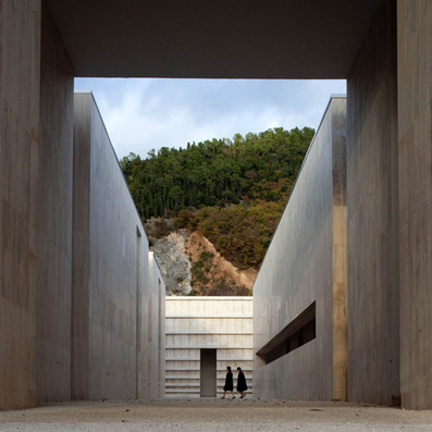 Cemetery complex by Andrea Dragoni contains plazas and artworks   Art, Architecture and Design   Scoop.it