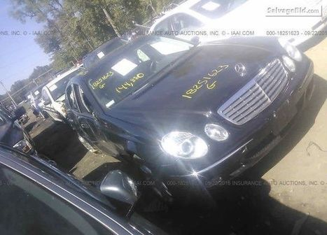 2004 Mercedes-benz E on online auction | Salvage Auto Auction | Scoop.it