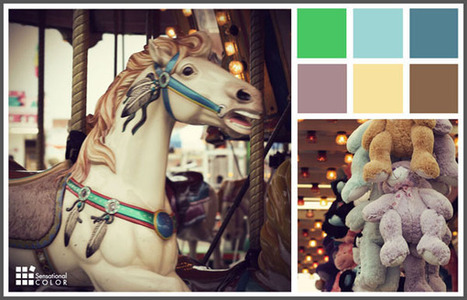 Color Scheme Inspiration: Vintage Carnival Palette | Color For Your Home | Scoop.it