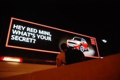 Digital outdoor ads 'recognise' Mini drivers | News | Marketing Week | Changes in Advertising | Scoop.it