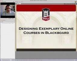 Designing Exemplary Online Courses in Blackboard | Good Pedagogy | Scoop.it