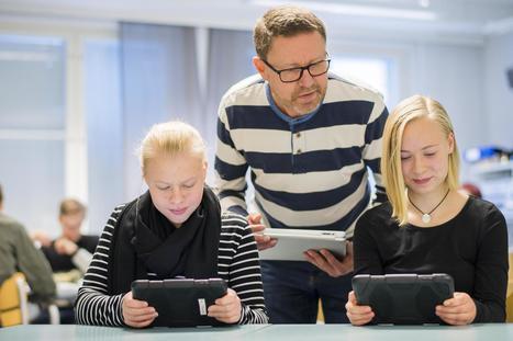 Digiloikka motivoi koululaisia, Savonlinnassa käytössä jo virtuaalitodellisuuslasit – kerro HS:n kyselyssä kokemuksesi tablet-laitteen käytöstä opetuksessa | Karttakeppi | Scoop.it