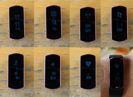 Energympro EP-SH09 Fitness Tracker Review   Embedded Systems News   Scoop.it