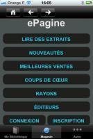 IPad/iPhone : ePagine lance son lecteur dédié | ACTU DES EBOOKS | Scoop.it