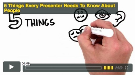 5 Things Every Presenter Should Know About People, Animated   :: The 4th Era ::   Scoop.it