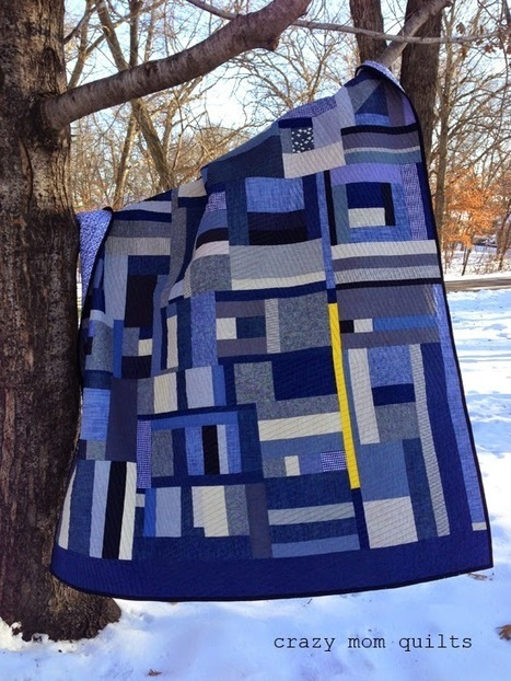 mustard mishap quilt | She Who Dies With The Most Fabric Wins | Scoop.it