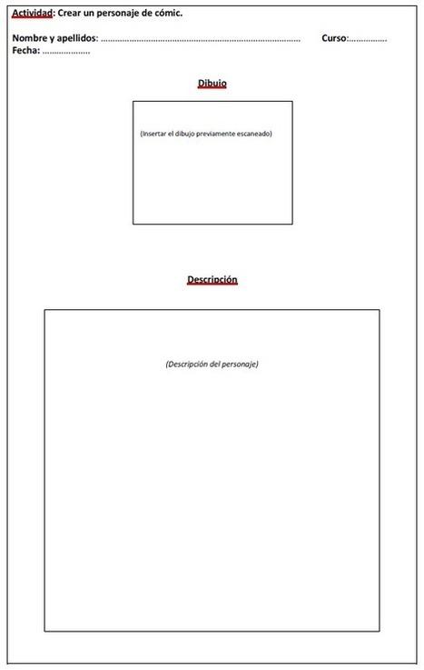 Creamos el libro de los comics | Observatorio Tecnológico | Educacion, ecologia y TIC | Scoop.it