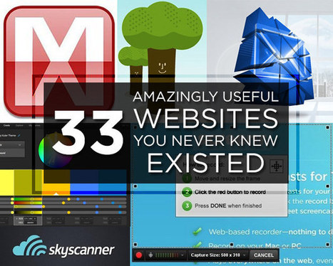 33 Amazingly Useful Websites You Never Knew Existed | Individual and Special Needs Examiner | Scoop.it