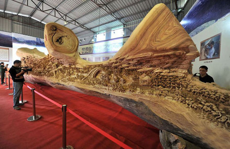 World's largest wood carving is a masterpiece for the ages | Digital-News on Scoop.it today | Scoop.it