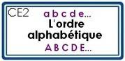 FR - L'ordre alphabétique | Classe de CE1 | Scoop.it