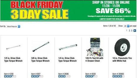 Harbor Freight Black Friday 2015 Ad Released - I4U News | Black Friday | Scoop.it