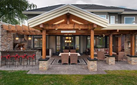 Outdoor Kitchen and Living Area | Outdoor Living | Scoop.it