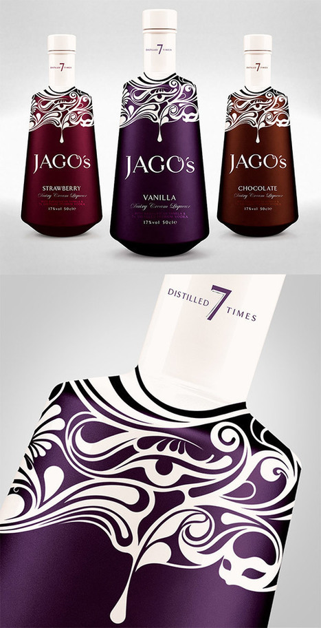 7 of the Most Eye-Catching Liquor Bottle Designs | Public Relations & Social Media Insight | Scoop.it
