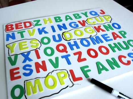 3D Word Search Tutorial | No Time For Flash Cards | Literacia no Jardim de Infância | Scoop.it