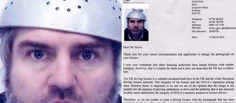 Dad challenging DVLA over right to wear 'religious headgear' in driving licence photo - a colander - Mirror Online | Modern Atheism | Scoop.it