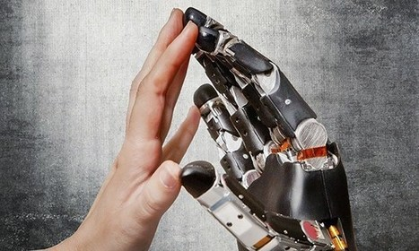 The technology that puts the human touch into prostheses | Technology Education | Scoop.it