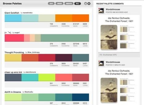 9 outils pour choisir les couleurs de son site web - WebEater | WEB : ressources et infos | Scoop.it
