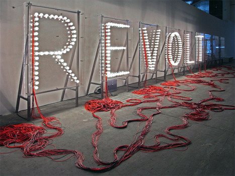 revoltage light bulb installation by raqs media collective | Visual Culture and Communication | Scoop.it