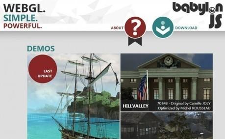 BabylonJS, un moteur pour faire de la 3D dans un navigateur web | Développement web | Scoop.it