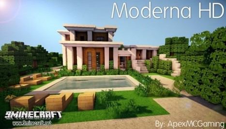 Moderna Resource Pack for minecraft 1.11/1.10.2/1.9.4 | My Pin | Scoop.it