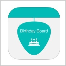 BIRTHDAY BOARD APP : REVIEW | Trending App Industry News | Scoop.it